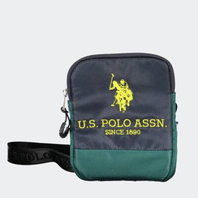 Τσαντάκι Χιαστί U.S. Polo Assn. BIUNB4862MIA-208 Μπλε Πράσινο