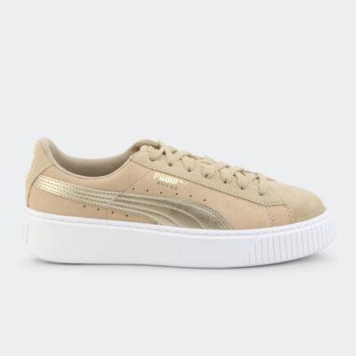 Sneaker Puma Suede Platform Safari 364594-01 Μπεζ