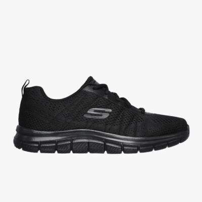 Sneaker Skechers Track Training 232081-BBK Μαύρο