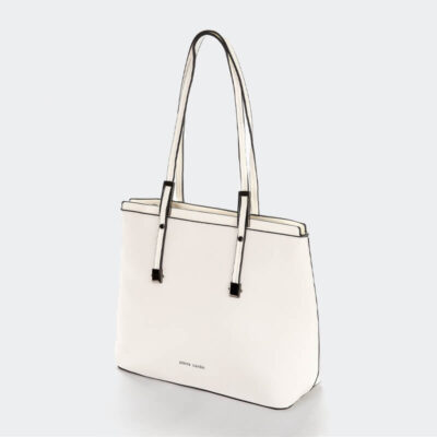 Γυναικεία Τσάντα Ώμου Pierre Cardin 14191 Άσπρο