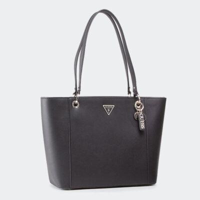 Τσάντα Ώμου Guess Noelle HWVG7879230 Μαύρο