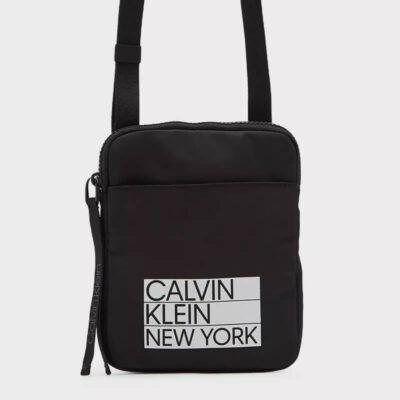 Τσαντάκι Χιαστί Calvin Klein K50K506984-BAX Μαύρο