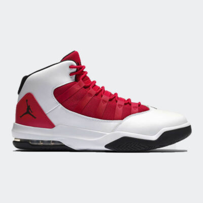 Sneaker Nike Jordan Max Aura AQ9084-106 Άσπρο Κόκκινο