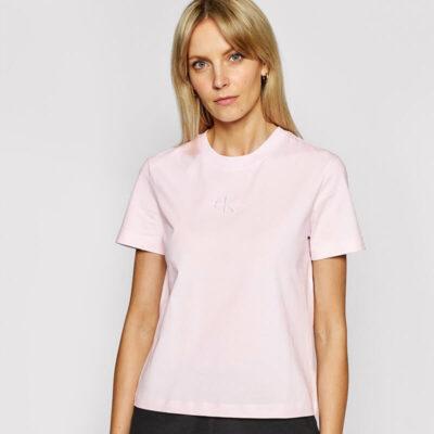 T-shirt Calvin Klein J20J215497-TN9 Απαλό Ροζ