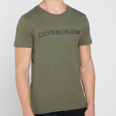 T-shirt Calvin Klein J30J307856-LDD Πράσινο
