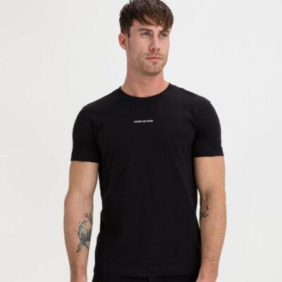 T-shirt Calvin Klein J30J318067-BEH Μαύρο