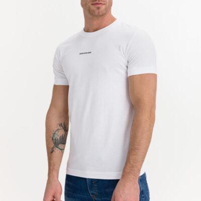 T-shirt Calvin Klein J30J318067-YAF Άσπρο