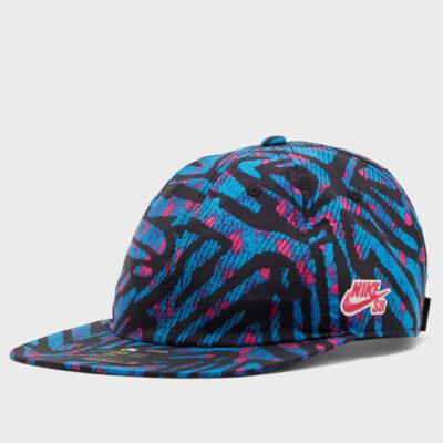 Καπέλο Nike H86 Flatbill Aop CQ9274-446 Μπλε