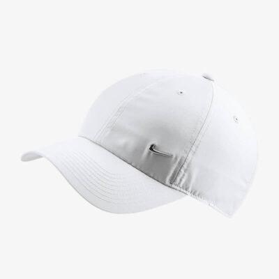 Καπέλο Nike Heritage 86 Metal Swoosh 943092-100 Άσπρο