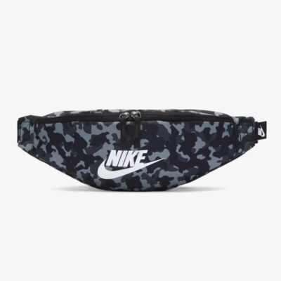 Τσαντάκι Μέσης Nike Heritage Hip Pack Aop2 CV0838-010 Μαύρο