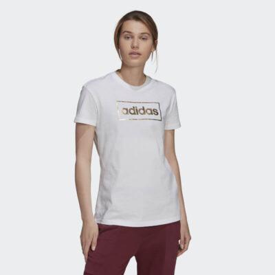 Sneaker Adidas Foil Box Graphic Tee H14693 Άσπρο