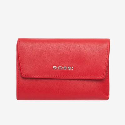 Δερμάτινο Πορτοφόλι Rossi RSC3533 Κόκκινο