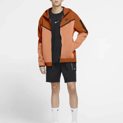 Ζακέτα Nike Sportswear Tech CU4489-893 Πορτοκαλί