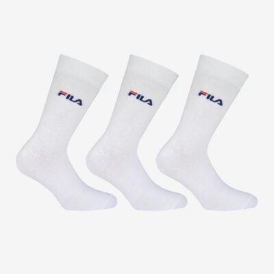 Κάλτσες Fila Unisex 3 ζεύγη F9630-300 Άσπρο