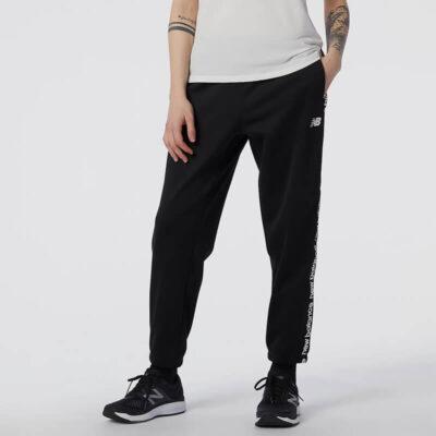 Παντελόνι Φόρμας New Balance WP13176BK Μαύρο