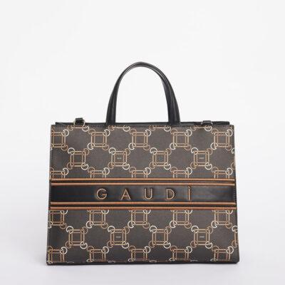 Τσάντα Χειρός Gaudi Tina V1AI-10323 Καφέ