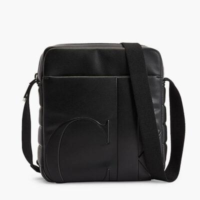 Τσαντάκι Χιαστί Calvin Klein K50K506953-BDS Μαύρο