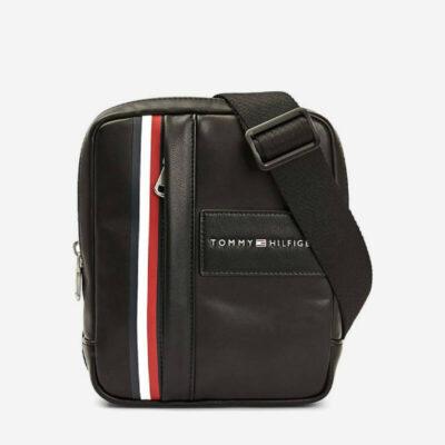 Τσαντάκι Χιαστί Tommy Hilfiger Metropolitan Mini AM0AM06242 Μαύρο