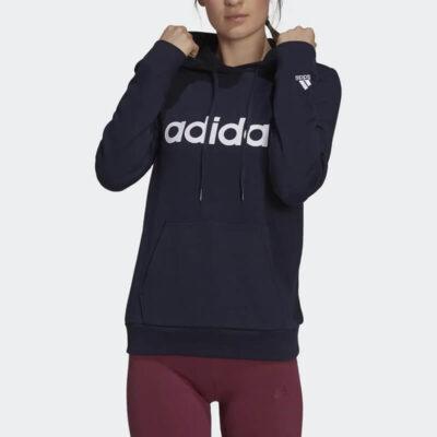 Φούτερ Adidas W Lin Ft HD H07797 Σκούρο Μπλε