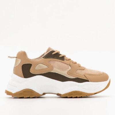 Chunky Sneaker Margaret 09156-200 Μπεζ