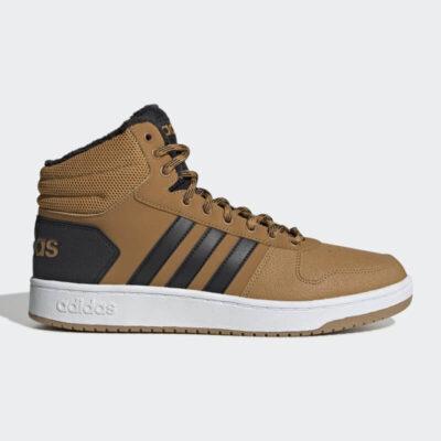 Sneaker Adidas Hoops 2.0 Mid EE7371 Καφέ