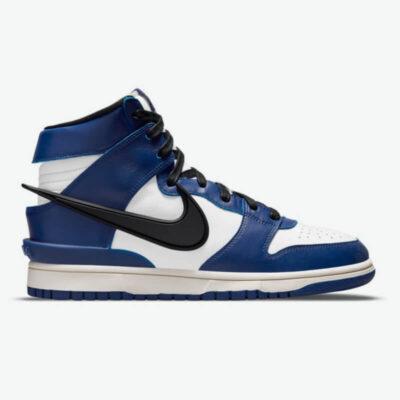 Sneaker Nike Ambush X Dunk High CU7544-400 Μπλε Άσπρο