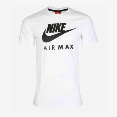 T-Shirt Nike Air Max Logo Mens 809247-100 Άσπρο