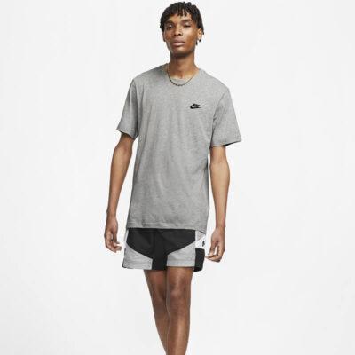 T-Shirt Nike M Nsw Club Tee AR4997-064 Γκρι