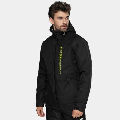Μπουφάν Για Σκι & Snowboard 4F H4Z20-KUMN003-20S Μαύρο