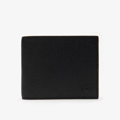 Πορτοφόλι Lacoste Chantaco NH2826CE-000 Μαύρο