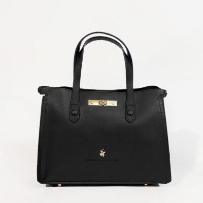 Τσάντα Χειρός Beverly Hills Polo Club BH-2631 Μαύρο