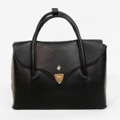 Τσάντα Χειρός Beverly Hills Polo Club BH-2680 Μαύρο