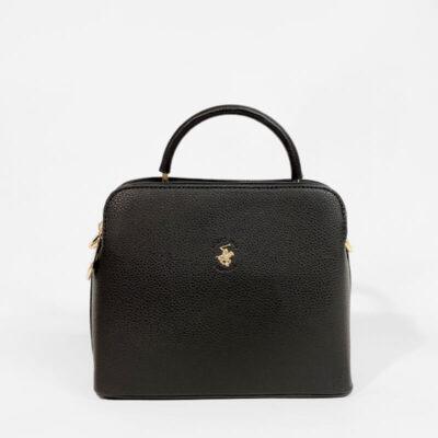Τσάντα Χειρός Beverly Hills Polo Club BH-2715 Μαύρο