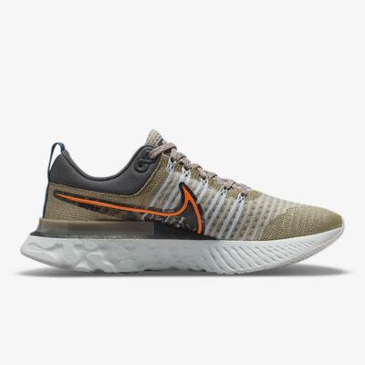 Sneake Nike React Infinity Run Flyknit 2 DC4577-001 Πολύχρωμο