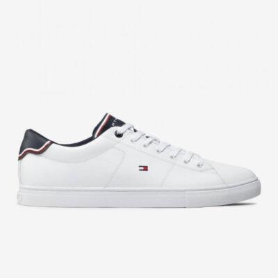 Sneake Tommy Hilfiger Essential Leather FM0FM03739-YBR Άσπρο