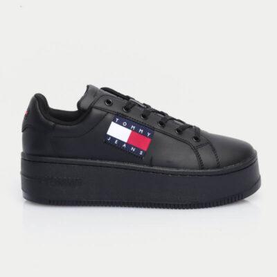 Sneaker Με Πλατφόρμα Tommy Hilfiger EN0EN01504-BDS Μαύρο