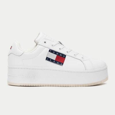 Sneaker Με Πλατφόρμα Tommy Hilfiger EN0EN01504-YBR Άσπρο